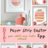 Paper Strip Easter Egg
