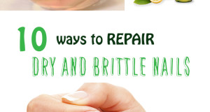 10 natural ways to repair dry and brittle nails