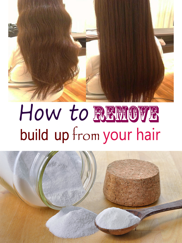 How to remove build up from your hair