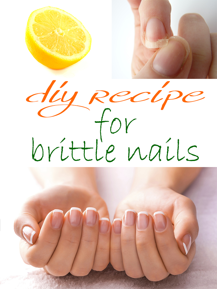 DIY recipe for brittle nails
