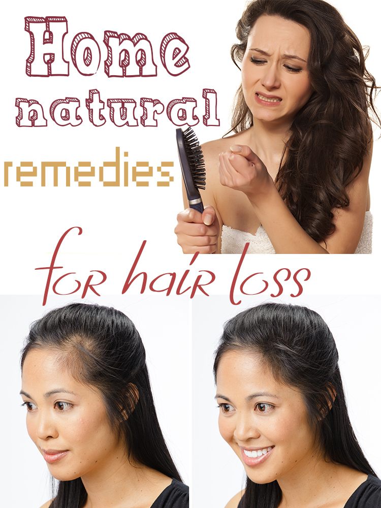 Natural remedies for hair loss - HomeMadeLifeProject