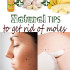 Natural tips to get rid of moles
