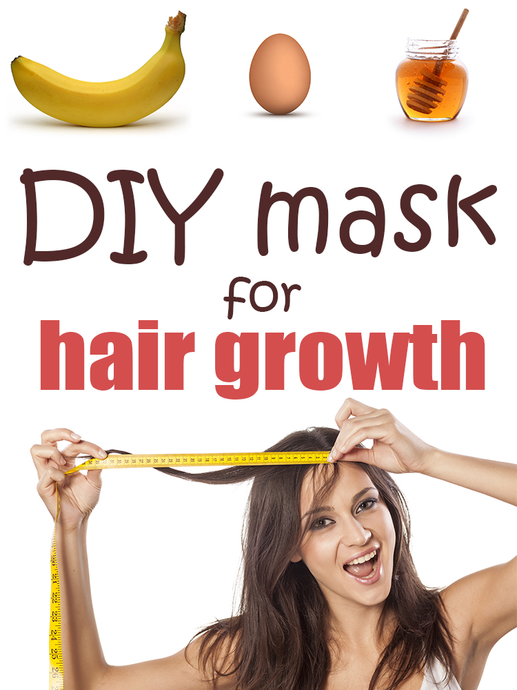 DIY mask for hair growth